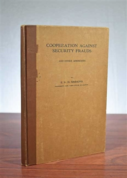1924 - Cooperation Against Security Frauds