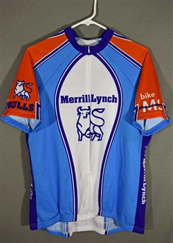 Merrill Lynch Cycling Jersey by Reviwear