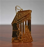1990 NYSE Gold Plated Brass Christmas Ornament