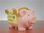 Stock Market Fund Piggy Bank