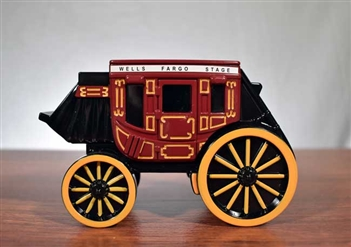 Wells Fargo Stage Coach Coin Bank - Vintage Bank