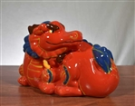 "Wells Fargo ""Year of the Dragon"" Coin Bank - Vintage Bank"