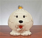 "Wells Fargo ""Year of the Dog"" Coin Bank - Vintage Bank"