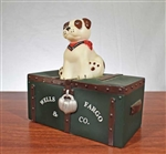 "Wells Fargo ""Jack the Dog"" Coin Bank - Vintage Bank"