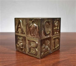 Alphabet Coin Bank - Vintage Bank