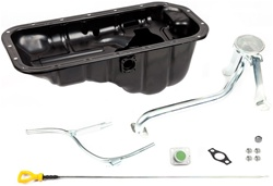 OEM T100 Oil Pan Kit For 3RZ Tacoma With Solid Axle Swap   OEM Toyota P/N: 15147-75020 15104-75050 15301-75020 11409-75020 12101-75060