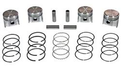 "Street Piston Set(w/Rings) - 20R(75-80)(+.040"")"