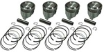Street Piston Set With Rings 22R/RE 1981-1984 +.030""