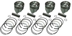 Street Piston Set With Rings 22R/RE 1981-1984 +.060""