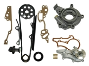 22R/RE Single Row Timing Chain Kit With Pumps and Metal Guides 1985-1995