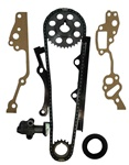 22R Single Row Timing Chain Kit Plastic Guides 1985-1995