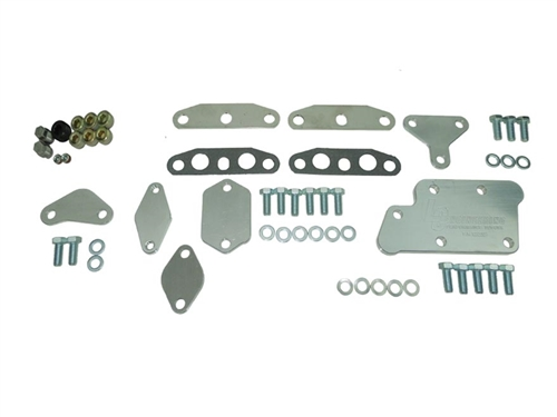 Emissions Block Off Plate Kit - 22R