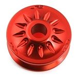 "1GRFE Supercharger Pulley 2.825"" Aluminum Anodized"