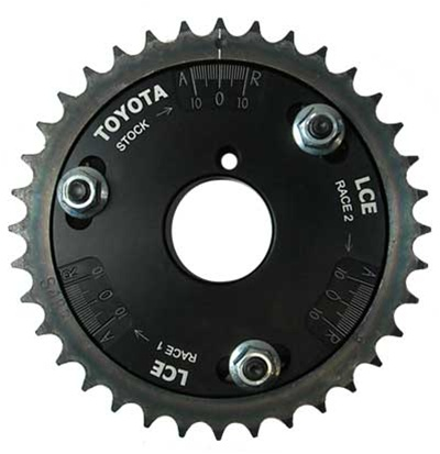 Adjustable Cam Gear Dual Row Chain 20R/22R/RE/RET