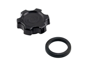 Black LCE Billet Oil Cap (Anodized)