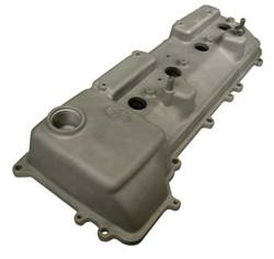 2RZ/3RZ Valve Cover w/Baffle (95-99) - NEW Uncoated OEM Toyota P/N: 11201-75020