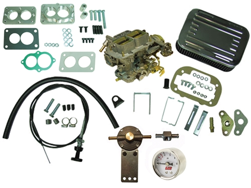 Weber 38 Carburetor Performance Package With Manual Choke