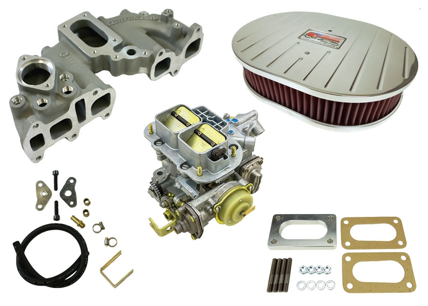 Weber 38 Carb Intake Performance Package 22r