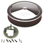 Adapter & Filter Kit - Weber 32/36/38 To K&N Kit
