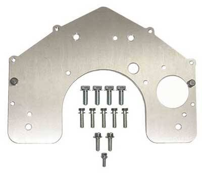 Transmission Adapter Plate Kit 20r 22r Re To Chevy Transmission
