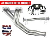 LC Engineering's Street Header Kit for 2WD 22R/RE Pickups 1985-1995