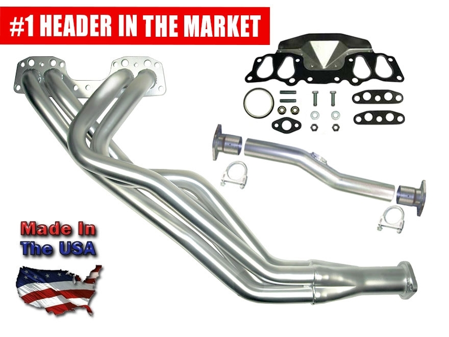 LCE Street Header Kit 4wd Direct-Fit 22R/RE 1985-1995