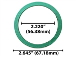 "Round Collector Exhaust Gasket Used For 2-Bolt x 2 1/4"" Flange"