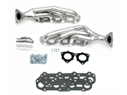 JBA Header Kit - Tundra/Seq (05-07) 4.7L SlvrCrmc