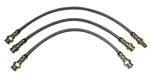 Stainless Brake Lines - 1979-1985 Pickup & 4Runner (4WD) (Stock Length)