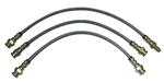 Stainless Brake Lines - 1986-1995 Pickup & 4Runner (4WD) (Stock Length)
