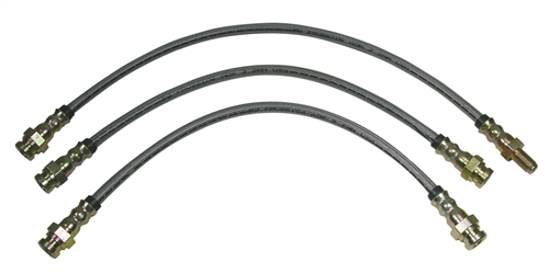 Stainless Brake Lines - 1979-1995 Pickup (2WD) (Stock Length)