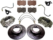 Front Big Brake Upgrade Kit Tacoma 1995-2004 6-Lug