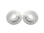 Replacement Brake Rotors For Disc Conversion Kits # 1055201 & 1055200 ONLY