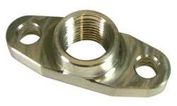 "Turbo Oil Drain Plate w/ 1/2""NPT Boss (Turbo Side)"