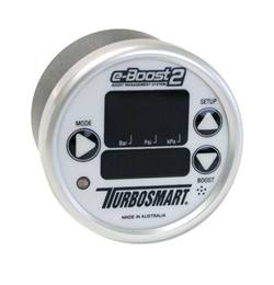 e-Boost2 Electronic Boost Controller 60mm WHT/SLVR