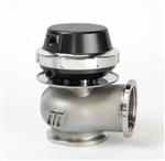 Wastegate 40mm External Wastegate V-Band 7PSI Black Anodized