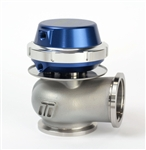 Wastegate 40mm External Wastegate V-Band 7PSI Blue Anodized