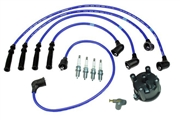 Street Tune-up Kit With NGK Plug Wires 222R/RE (80-92)