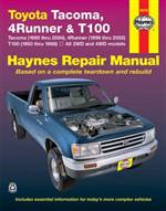 Haynes Repair Manual-(95-04) Tacoma, 4Runner, T100