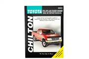 Chilton Repair Manual 1989-1996 Pickup, 4Runner & Land Cruiser
