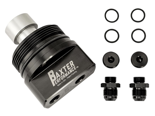 Remote Oil Filter Adapter for 4.0L V6 (1GR Series Engine) Powered Toyotas
