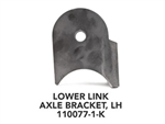 Front 3-Link Lower Link Axle Bracket, Left-Hand