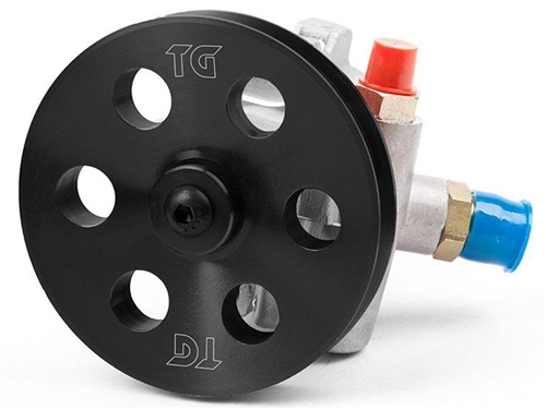 Rock Assault Power Steering Pump With Tacoma Serpentine Pulley