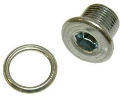 Drain Plug - Magnetic w/Steel Washer