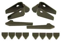 Creeper Knuckle Gussets - Fits Solid Front Axle