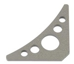 Weld-In Frame Gussets 5 Hole Triangle