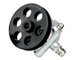 Power Flow 1650psi Power Steering Pump with Pulley