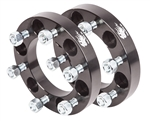 "Wheel Spacers(Pair) - 6 Lug x 1"" Wide (6 on 5.5"")"
