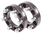 "Wheel Spacers(Pair) - 6 Lug x 1.25""Wide(6 on 5.5"")"