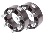 "Wheel Spacers(Pair) - 6 Lug x 2""Wide (6 on 5.5"")"